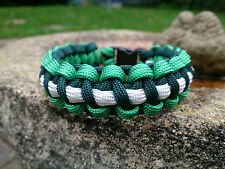 Macmillan Cancer Support  Inspired Paracord Bracelet