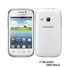 5 Pellicola per Samsung Galaxy Young S6310 Protettiva Pellicole SCHERMO LCD