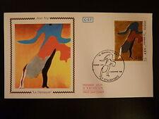 FRANCE PREMIER JOUR FDC YVERT 2447   PEINTURE DE JEAN ARP  5F STRASBOURG  1986