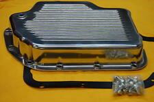 Turbo TH 400 Polsihed  Aluminum Transmission Pan Alum Trans Fits Camaro Chevelle