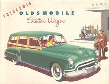 1949 Oldsmobile Woodie Station Wagon Brochure mx704-MCQZF8