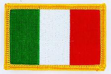 Toppe Toppa PATCH ITALIA Bandiera 7x4.5cm termoadesivo