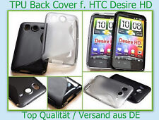Case Back Cover HTC Desire HD Silicone Bumper Pull Tab Pouch Case Cover Skin TOP