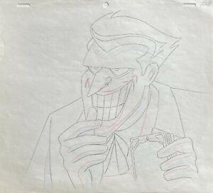BRUCE TIMM rare JOKER Original Production Drawing 2 ALMOST GOT 'IM BTAS WB COA