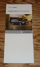 Original 2008 Subaru Forester Accessories Foldout Sales Brochure 08