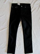 Nudie Jeans Slim Jim 100% Organic Cotton Dry Black NJ3777- Men's Size 29 L34