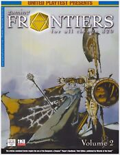 d20 Gaming Frontiers Magazine Vol. 2  *NEW* RPG D&D Dungeons & Dragons Fantasy