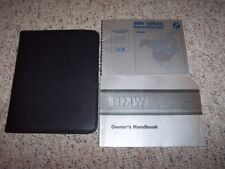 1987 BMW 6 Series L6 M6 635CSI Coupe Owner Owner's Manual User Guide Set
