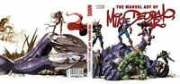 THE MARVEL ART OF MIKE DEODATO HARDCOVER Comics Art Book NEW! HC