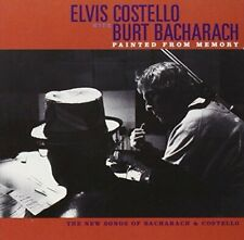 Elvis Costello Painted from memory (1998, & Burt Bacharach) [CD]