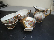 Service 4 tasses Porcelaine