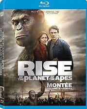 Rise of Planet of Apes (Blu-ray, 2011) NEW, FREE SHIPPING