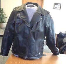 Harley-Davidson Women's Black Leather Jacket-Priscella- 97182-17VW - Size Large