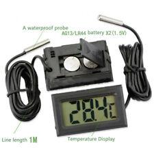 Aquarium Thermometer Lcd Fish Tank Water Temperature Detector Hot Sale Meter New