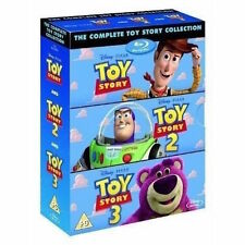 TOY STORY Blu-Ray Box Set Complete 1-3 Disney Pixar Collection Show Woody Lot TV