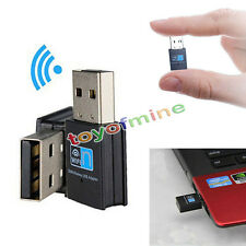 300Mbps Mini Wireless USB Wifi Adapter LAN Antenna Network Adapter 802.11n/g/b