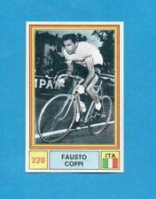 SPRINT 71-PANINI 1971-Figurina n.220- FAUSTO COPPI - ITALIA -Recuperata