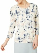 Eastex Reflective Bloom Print Top Size 18 rrp £39 LS079 CC 05