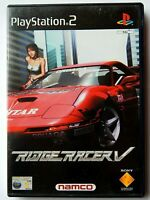 Ridge Racer V / 5 (Sony PlayStation 2, 1999, PAL) PS2