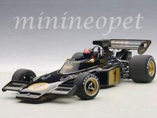 AUTOart 87328 LOTUS 72E 1973 EMERSON FITTIPALDI #1 WITH FIGURE 1/18 MODEL BLACK