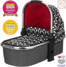 OBABY Chase Carrycot, Eclipse - Suitable from birth, Baby Infant Carry Cot