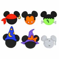 Jesse James Buttons ~  Dress It Up  DISNEY MICKEY & MINNIIE HALLOWEEN HATS