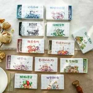 Decorative Matchbox Craft,Journal Stickers