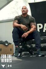Under Armour Men's Project Rock Veteran's Day Graphic T-Shirt Sz M