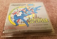 SUPERMAN The Strategy game - Commodore 64 & Atari 800 XE XL - NEW NOS Sealed