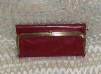 Hobo International RACHEL Leather Wallet - RUBY ~ Includes Dust Bag
