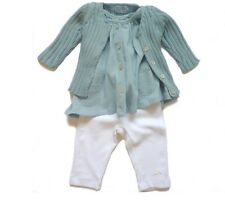 Tocoto Vintage Spanish Baby Girl Outfit Top and Bottoms 12 Months