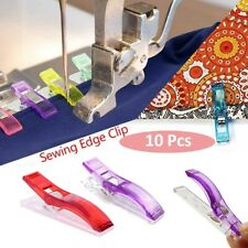 10PCS Needlework Clip Plastic Fabric Binding Clamps For Quilting Sewing Knitting