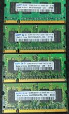 2 GB (4 pcs) Samsung M470T6554EZ3-CE6 PC2-5300S 512MB DDR2 200-pin Laptop Memory