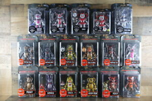 """FIVE NIGHTS AT FREDDY'S Funko 5"""" Articulated Figures You Choose *Some Box Wear*"""