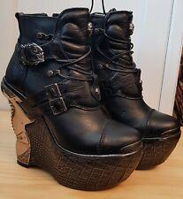 New Rock Plarform Ankle Boots Size 4