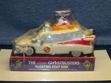 1986 The Real Ghostbusters Ecto-1 Car Tv Movie Cartoon Floating Soap Dish Sealed