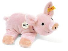 Steiff-Tiere mit Schweine-Motiv