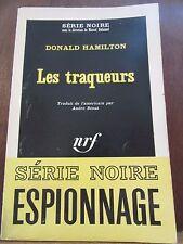 Donald Hamilton: les traqueurs/ Gallimard Série Noire N°933