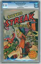 Silver Streak #23 CGC 5.0 (Lev Gleason, 1946) Lou Ferstadt Bondage Cover