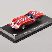 Nice 1/43 Maserati Tipo 61 Drogo Guards Trophy Leo Models Casner