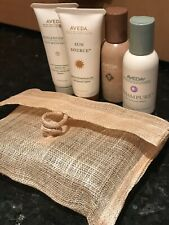 AVEDA Hair Care Gift Set Travel With Bag Four Products Including Shampure 50ml