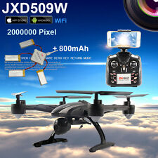 WIFI FPV JXD 509W Headless Aerial 6Axis 4CH RC Quadcopter RTF 2MP Camera Drone