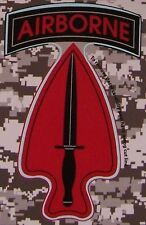 Window Bumper Sticker Military Army Special Operations Forces Airborne NEW Decal