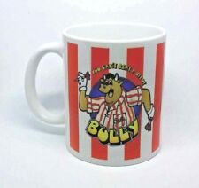 Bullseye tv game show mug darts Bully Rude funny Jim bowen coffee free gift box.