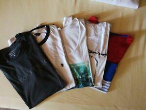Jungen/Herren T-Shirt Set Gr. M