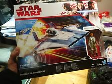 STAR WARS FORCE LINK RESISTANCE A-WING FIGHTER THE LAST JEDI 3.75