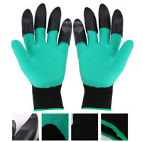 1 Pair Waterproof Gardening Gloves with Claws for Planting and Digging FD8