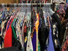 Venta Mayorista Lote De Trabajo vintage color estampado vestidos Trader Festival re-venta