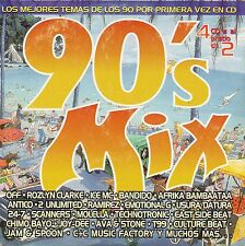 """TECHNOTRONIC / OFF / CULTURE BEAT / 2 UNLIMITED """"90's MIX"""" PROMO CD SAMPLER"""