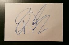 Paul Walker The Fast and Furious Signed Index Card AUTHENTIC AUTOGRAPH